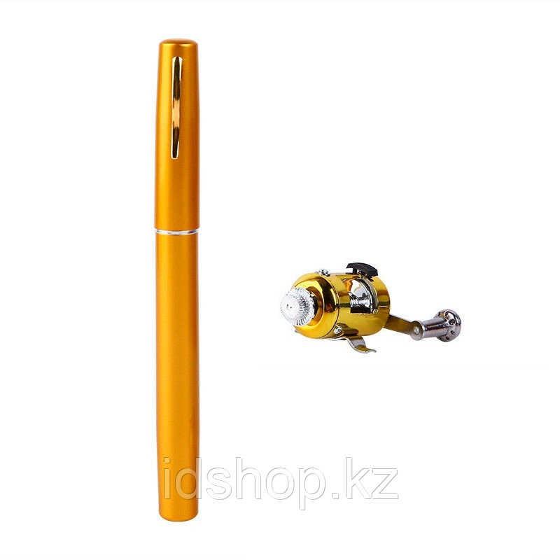 Складная удочка с катушкой Pocket Pen Fishing Rod - фото 2
