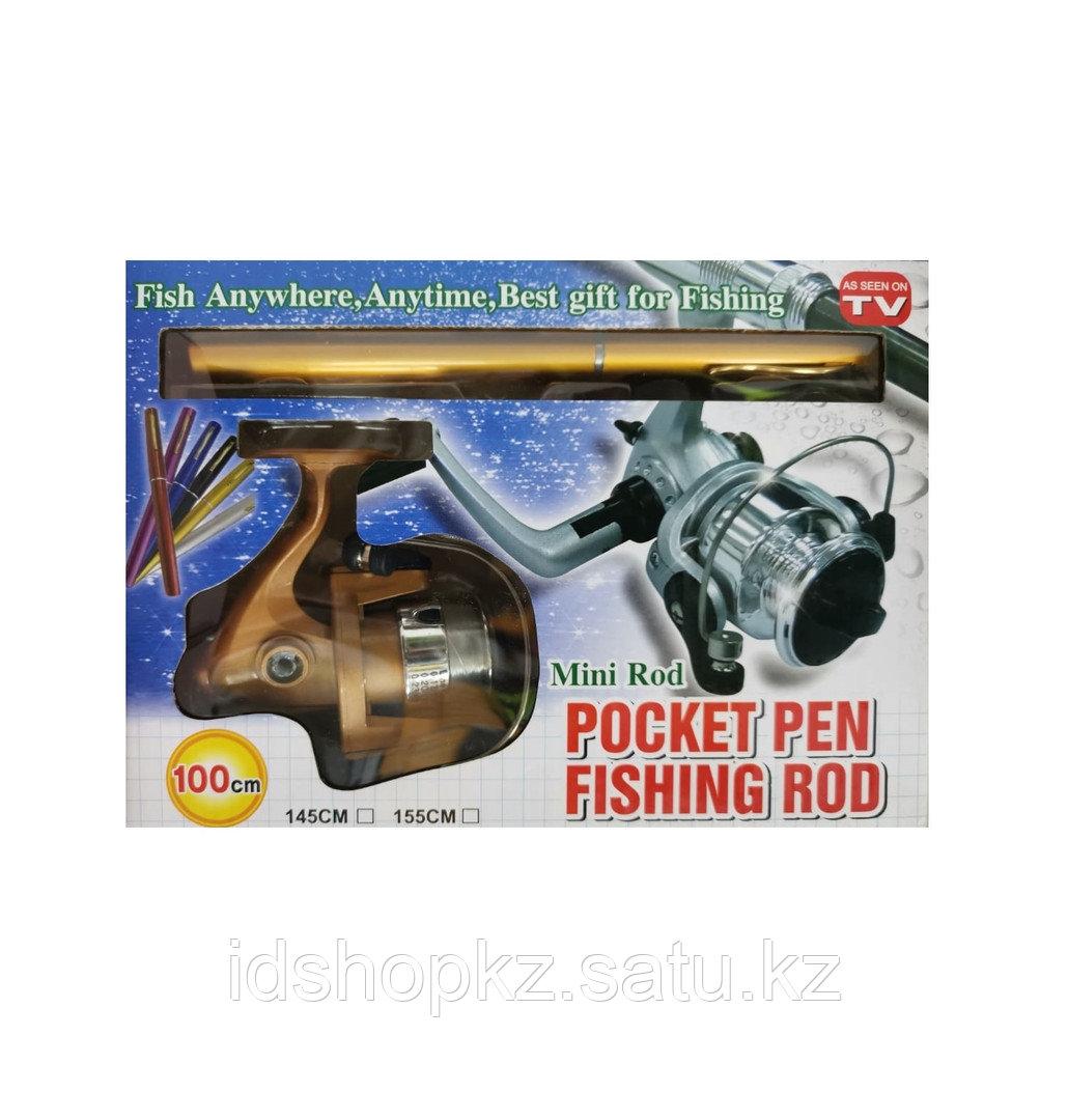 Складная удочка с катушкой Pocket Pen Fishing Rod - фото 3
