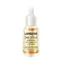 Сыворотка с лифтинг-эффектом Lanbena 24K Gold Ampoule