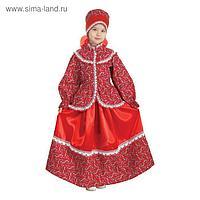 Русский народный костюм «Забава», головной убор, блуза, юбка, рост 110-116 см