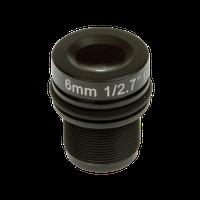 LENS M12 6MM F1.9 4PCS