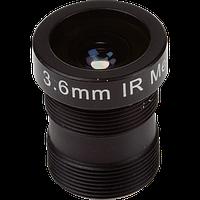 ACC LENS M12 MEGAPIXEL 3.6MM 10PCS