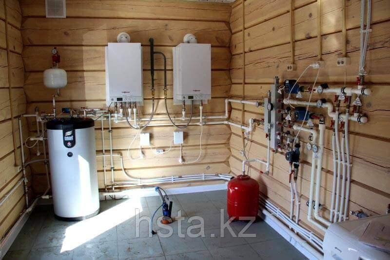 Монтаж системы отопления для частных домов и коттеджей - фото 1