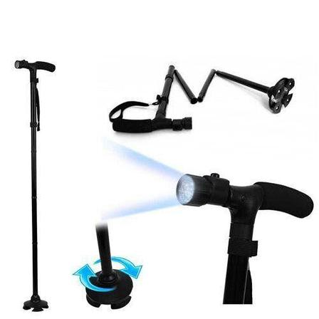 Трость телескопическая с подсветкой День отца!, фото 2