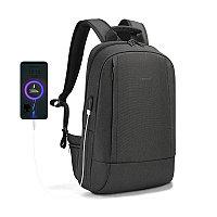 Городской рюкзак Tigernu B3928 черный (тонкий рюкзак)
