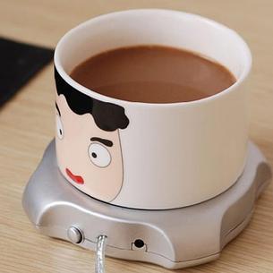 Подставка под чашку с подогревом от USB День отца!, фото 2