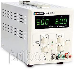 MATRIX MPS-6005D+ Одноканальный линейный источник постоянного напряжения (60 В, 5 А)