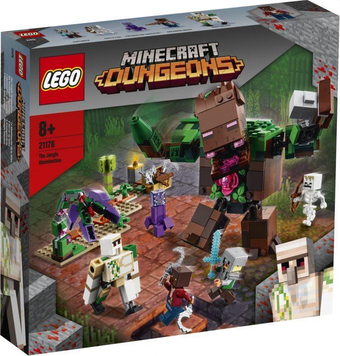 21176 Lego Minecraft Мерзость из джунглей, Лего Майнкрафт