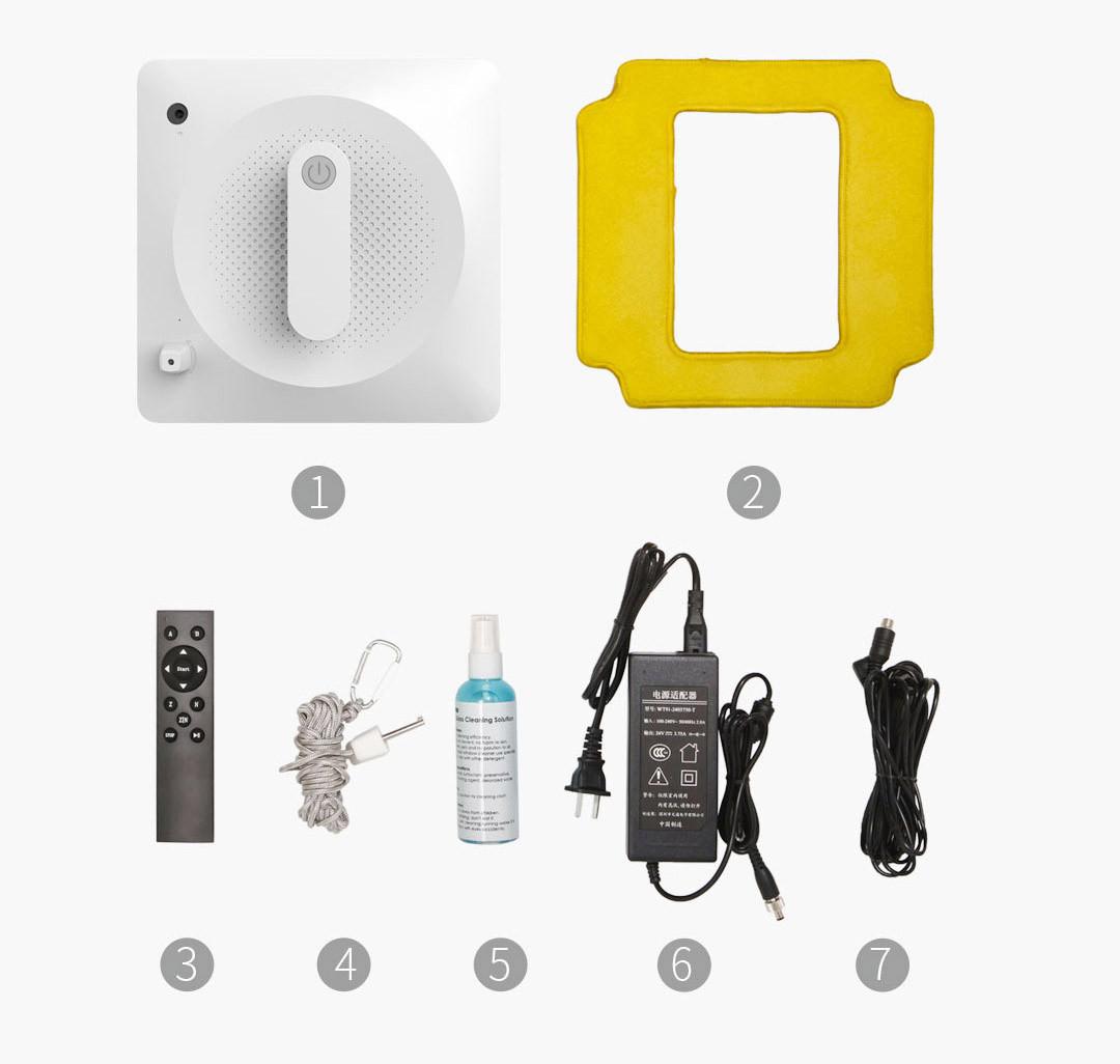 Робот мойщик окон Xiaomi Bobot Window Cle - фото 2