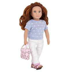 Lori кукла в брюках с сумочкой