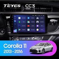Магнитола Teyes на Андроиде для Toyota Corolla 11 Middle East 2013-2017