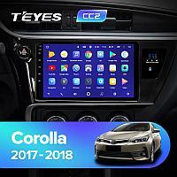 Магнитола Toyota Corolla 11 2017-2018 Teyes CC2 Plus, 6+128G