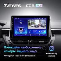 Магнитола Toyota Corolla 12 1 Din 2018-2020 Teyes CC2 Plus, 3+32G