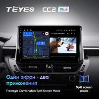Магнитола Toyota Corolla 12 1 Din 2018-2020 Teyes CC2 L Plus, 2+32G