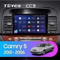 Магнитола Teyes на Андроиде для Toyota Camry 5 XV 30 2001-2006-A