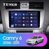 Магнитола Toyota Camry 6 XV 40 50 2006-2011 Teyes CC3, 6+128G