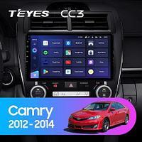 Магнитола Teyes на Андроиде для Toyota Camry 7 XV 50 55 Middle East 2012-2014