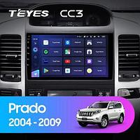 Магнитола Teyes на Андроиде для Toyota Land Cruiser Prado 3 J120 2004-2009