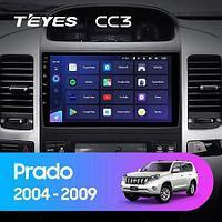 Магнитола Toyota Land Cruiser Prado 3 J120 2004-2009 Teyes CC3, 4+64G