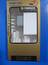 Зарядное устройство для iphone 6s, 2.1A, 2 USB,Алматы