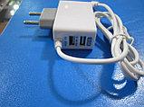 Зарядное устройство для iphone 6s, 2.1A, 2 USB,Алматы, фото 2