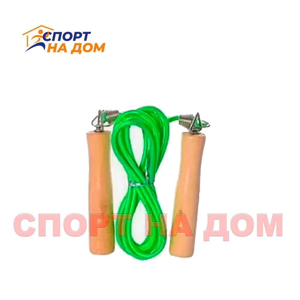 Скакалка с деревянными ручками Fengsu