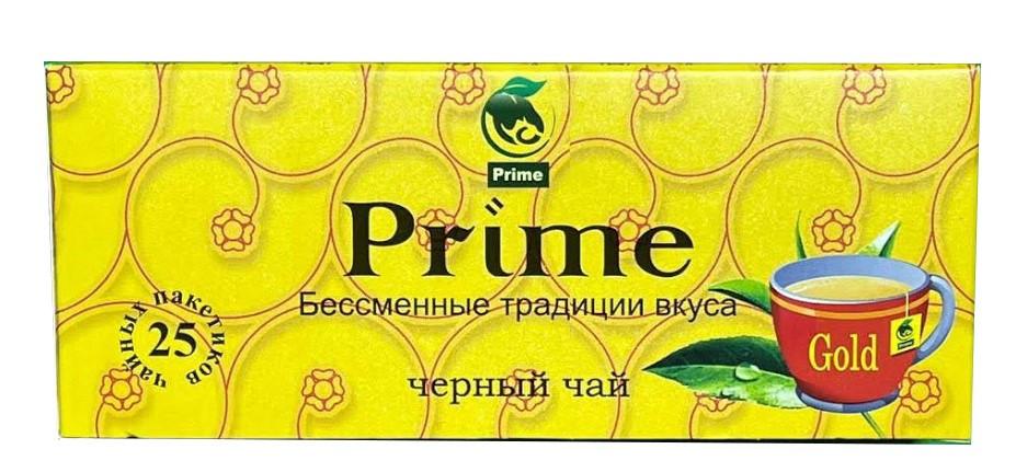 Прайм пакетированный черный чай 25 шт