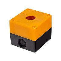 Корпус под промышленную кнопку, желтый