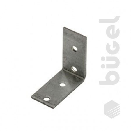 Крепежный угол равносторонний KUR- 40х40х40 (100шт.)