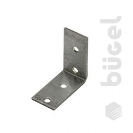 Крепежный угол равносторонний KUR-50х50х80 (50шт.)