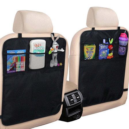 Чехол-накидка на спинку переднего сиденья авто День отца!, фото 2