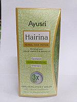 Активатор роста волос Хайрина, травяной настой, 60 мл, Hairina Herbal Hair Potion, Aysri
