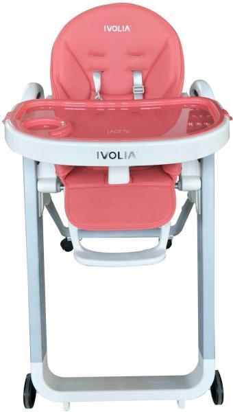 Стульчик для кормления Ivolia B2 розовый