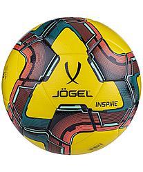 Мяч футзальный Inspire №4, желтый Jögel