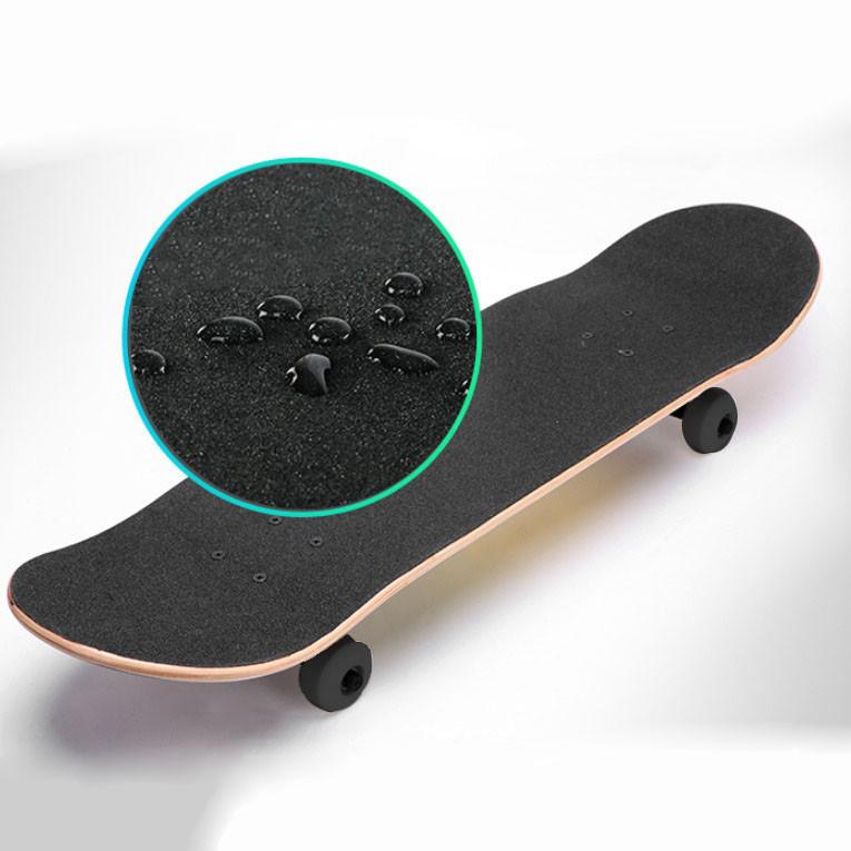 Скейтборды подростковые с узором в нижней части деки 79х20 см BOBO с геометрической фигурой - фото 6