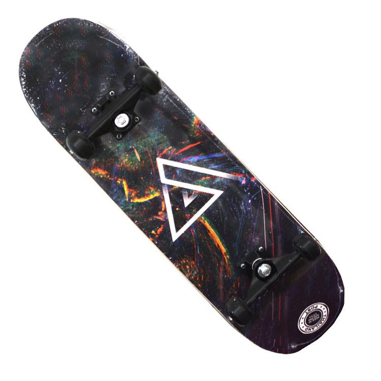 Скейтборды подростковые с узором в нижней части деки 79х20 см BOBO с геометрической фигурой - фото 7