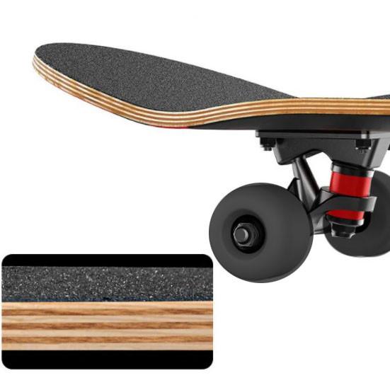 Скейтборды подростковые с узором в нижней части деки 79х20 см BOBO с абстрактным рисунком - фото 8