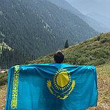 Флаг Казахстана новый в упаковке. Доставка по РК., фото 3