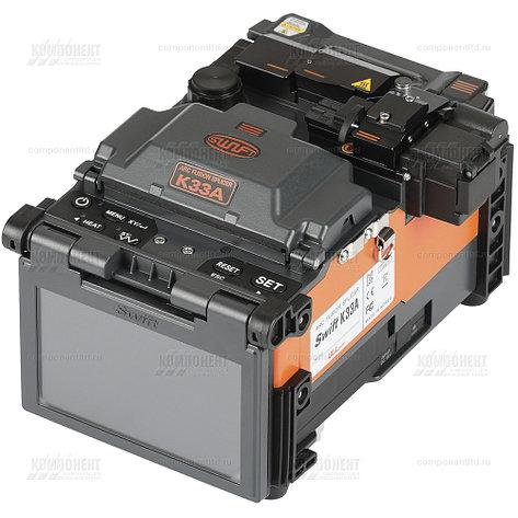Сварочный аппарат для ВОЛС с выравниванием по сердц., ILSINTECH SWIFT K33A (2 года гарантии, Ю.Корея), фото 2