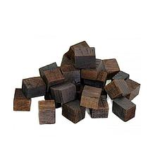Дубовые кубики 15х15мм, сильной обжарки. 250гр.