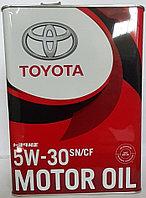 Моторное масло Тойота 5W30 SN.4л