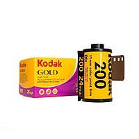 KODAK GOLD 200/24 низкочувствительная цветная негативная фотоплёнка