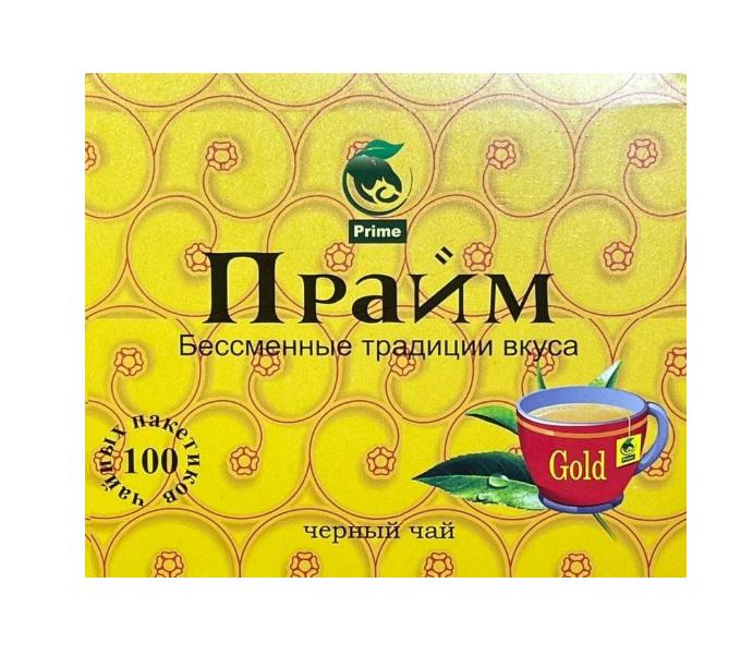 Прайм пакетированный черный чай 100 шт