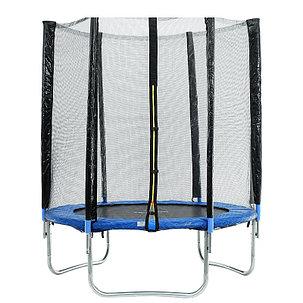 Батут каркасный 10 ft, d=305 см, с внешней защитной сеткой, синий, фото 2