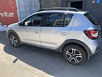 Ветровики Renault Sandero Stepway дефлекторы окон на Рено Сандеро степвей