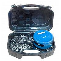 Лебедка механическая подвесная c фиксацией цепи натяжения, 2 т (длина цепи - 2,5м), в кейсе Forsage