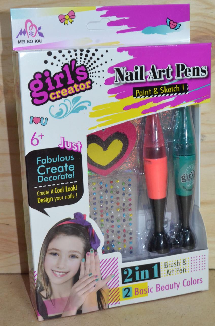 MBK 327 Набор для маникюра Nail Art Pens 2в1 27*17см