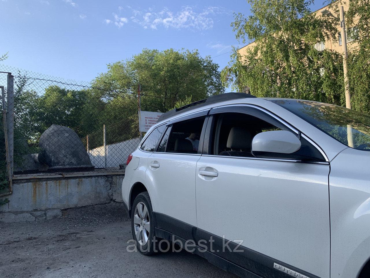 Ветровики на Субару Аутбек Subaru Outback оригинал