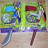 RZ1594/1595 Черепашки ниндзя оружия с маской Weapon Turtles 30*23см