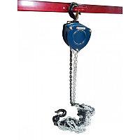 Лебедка механическая подвесная с лепестковым механизмом фиксации цепи натяжения, 10т (длина цепи - 3м) Forsage